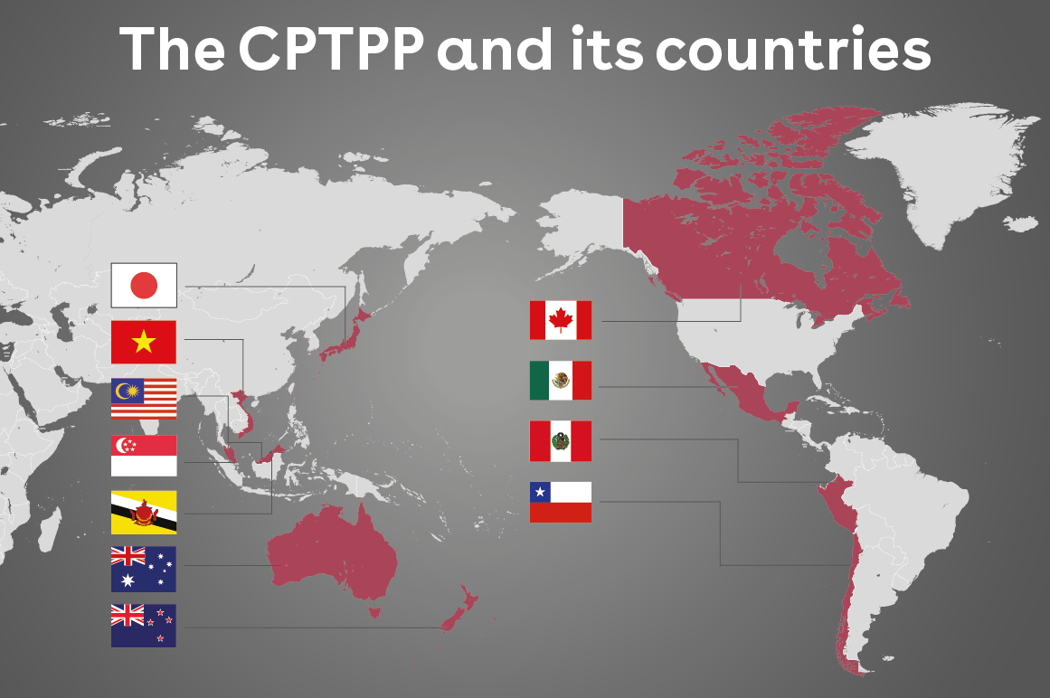 Cập nhật các mã HS (HS code) của hàng hóa nhập khẩu từ các quốc gia CPTPP (Úc, Canada, Nhật Bản, Mexico, Singapore, New Zealand) sẽ được giảm thuế suất nhập khẩu từ tháng 01/2021