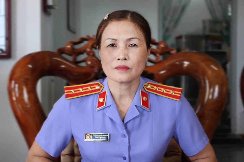 Luật sư Phạm Thị Thanh