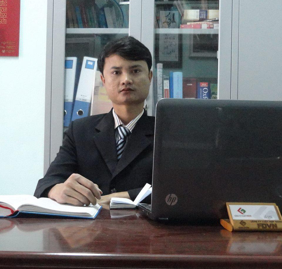 Luật sư Lê Cao