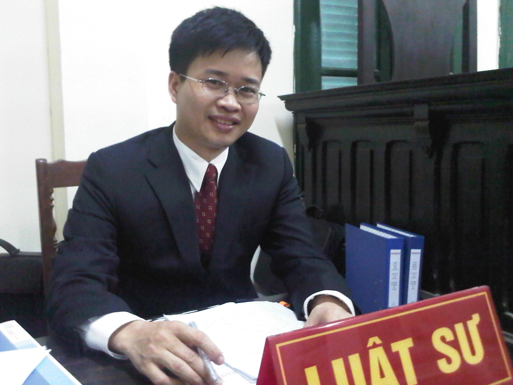 Luật sư Đinh Nhật Quang